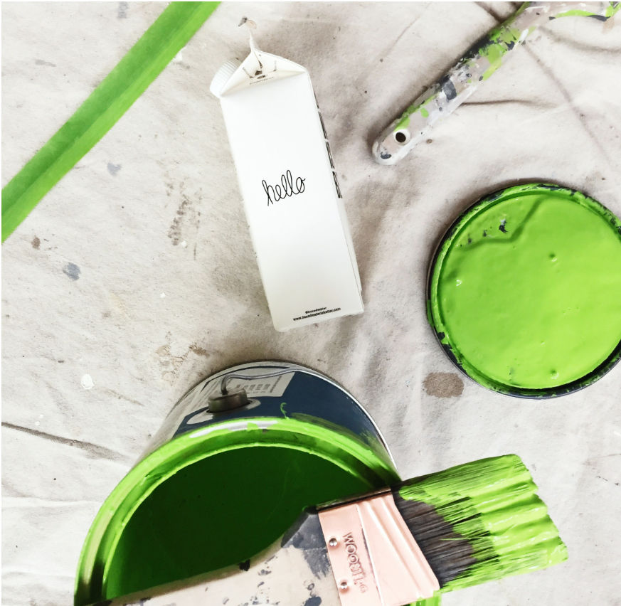 peindre chambre bébé peinture polluant toxique