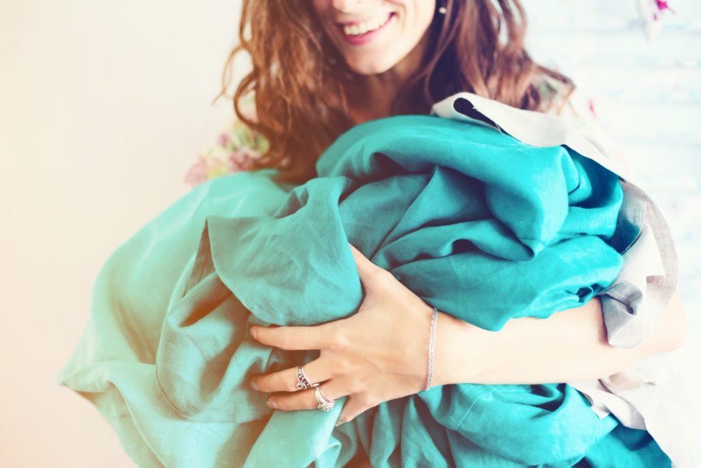 odeur propre lessive parfum polluant