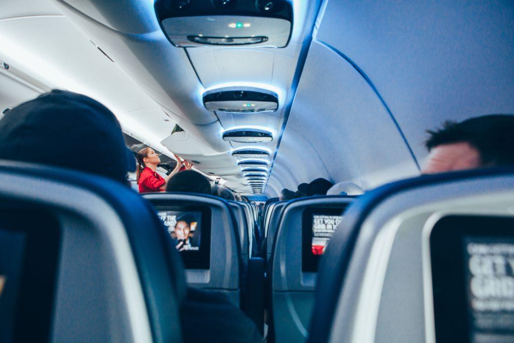 air intérieur avion pollution