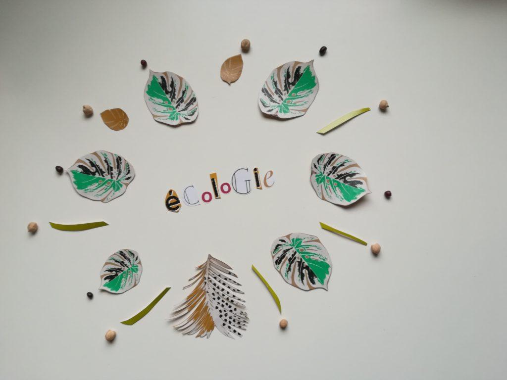 activité écologique manuelle enfant 18 mois